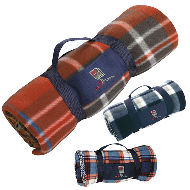 Roll Up Travel Blanket