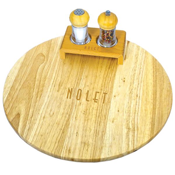 Wood Turntable