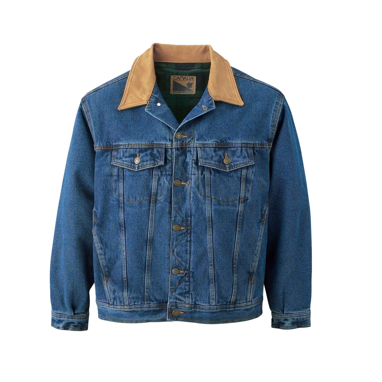 Men's Fleece-Lined Denim Jacket | Express Impressions Inc.