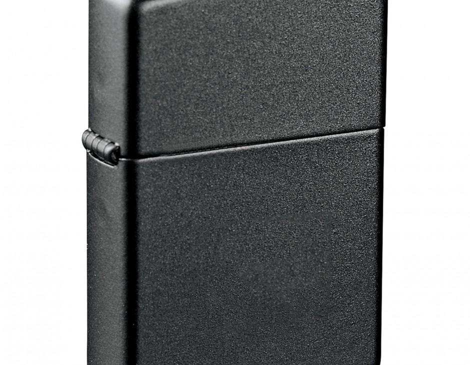 Matte Black Zippo Lighter